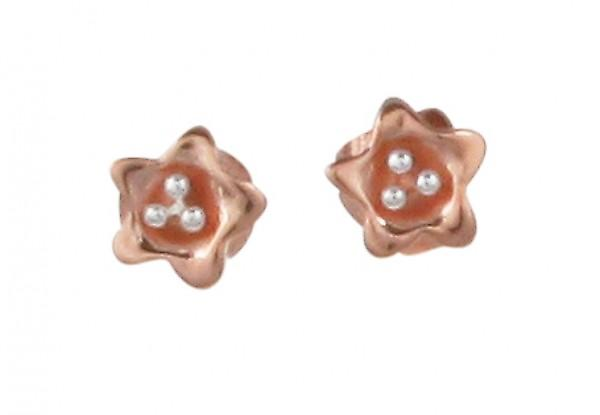 Boucles d'oreilles or Cavendish français Starflower