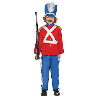 Jongens Little Soldier fancy dress kostuum