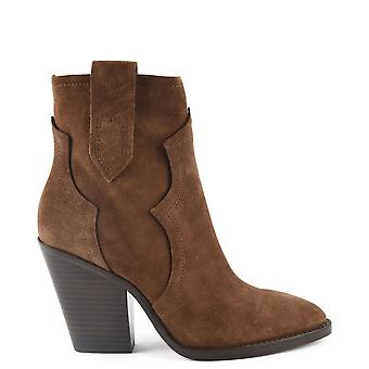 Ash ESQUIRE Heeled Boots Russet Suede