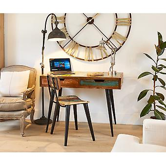 Coastal Chic Wooden Laptop Desk / Dressing Table - Baumhaus