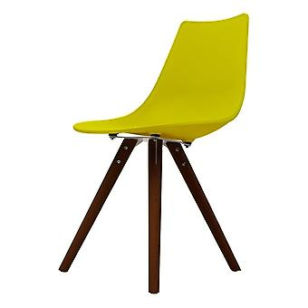 Fusion Living Iconic Lime Plastic Dining Chair With Dark Wood Legs Fusion Living Iconic Lime Plastic Dining Chair With Dark Wood Legs Fusion Living Iconic Lime Plastic Dining Chair With Dark Wood Legs Fusion Living