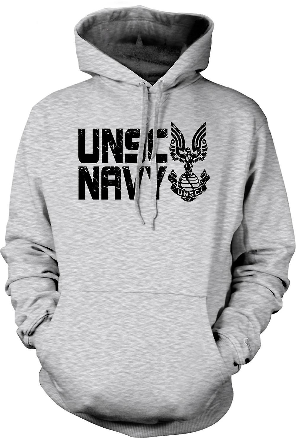 Mens Hoodie - UNSC marine Logo - Gamer
