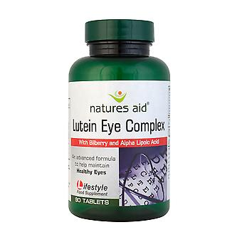 Le nature aiuti NEW & migliorata luteina Eye Complex con mirtillo, 90 compresse