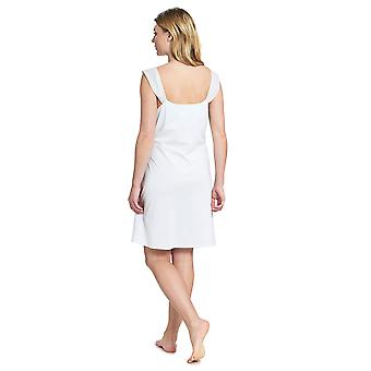 Feraud 3191124-11770 Robe de nuit Couture Crystal Blue Cotton Gown