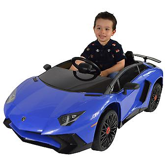 Licensed Lamborghini Aventador Roadster 12v Kids Electric Ride On Car
