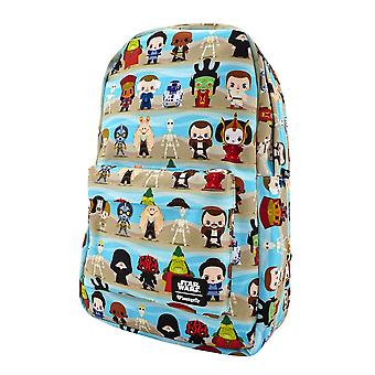 Star Wars Phantom Menace Chibi Backpack