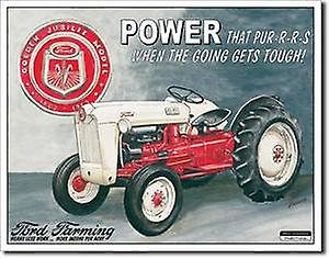 Ford Farming Power Jubilee Tractor metal sign   (sf)
