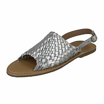 Leather Collection Womens/Ladies Weave Sandals