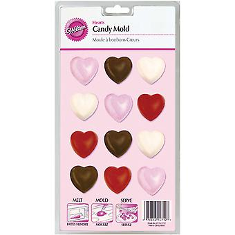 Candy Mold Hearts 12 Cavity W1712