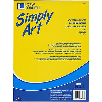 Simply Art Watercolor Paper Pads 9