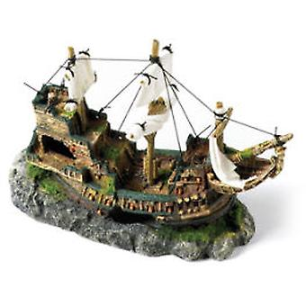 Classic For Pets Galleon with Sails 330mm (Peces , Decoración , Adornos)
