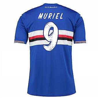 2016 / 17 Sampdoria Home Shirt (Muriel 9) - Kinder