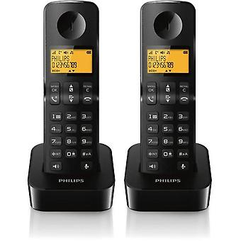 Philips Hands-Free Phone D4501B23 Black Duo (Casa , Elettronica , Telefoni , Fissi)
