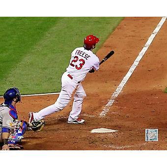 David Freese Walk-Off Home Run gioco sei della MLB World Series azione foto stampa (8 x 10)