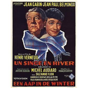 Singe en hiver Movie Poster (11 x 17)