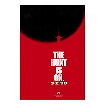 The Hunt for Red October Movie Poster (11 x 17)