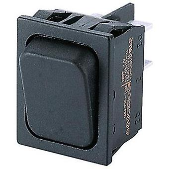 Toggle switch 250 Vac 10 A 2 x On/On Marquardt 1834.3302 IP40 latch 1 pc(s)