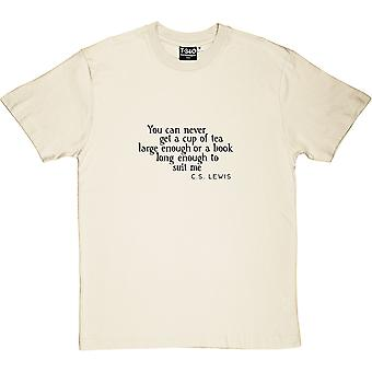C.S. Lewis A Book Long Enough Quote Men's T-Shirt