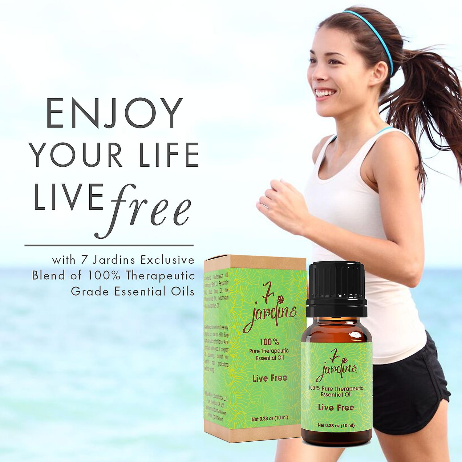 Pain Relief Essential Oil Blend- 100% Pure Natural -Muscle Joint Sport