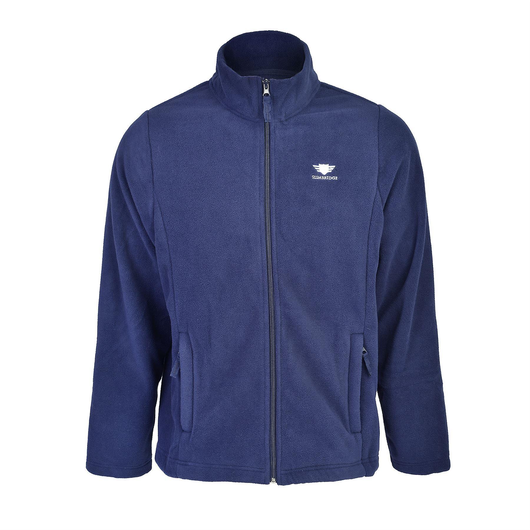 Slimbridge Sanford Size M Mens Fleece Jacket, Navy