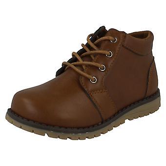 Garçons JCDees Trendy lacets cheville bottes N2042