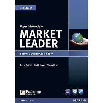 Market Leader Upper Intermediate Coursebook & DVD-ROM Pack (Paperback) by Cotton David Falvey David Kent Simon