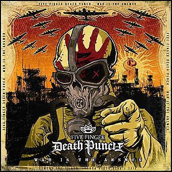 Fem Finger Death Punch - krigen er svaret [CD] USA importen