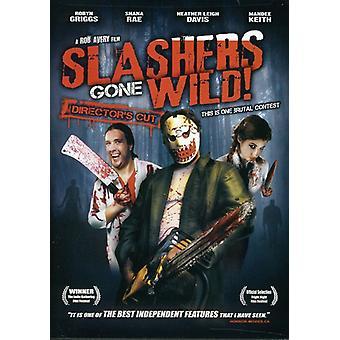 Slashers Gone Wild [DVD] USA importerer
