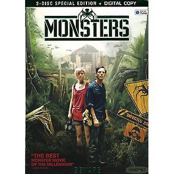 Importación de monstruos [DVD] los E.e.u.u.