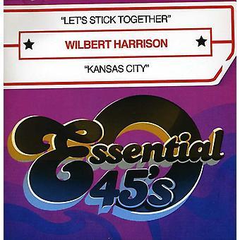 Wilbert Harrison - importazione USA Let's Stick Together/Kansas City [CD]