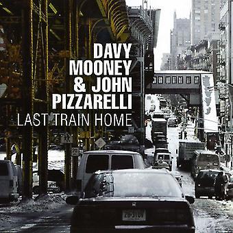 Mooney, Davy/John Pizzarelli - sidste tog hjem [CD] USA import