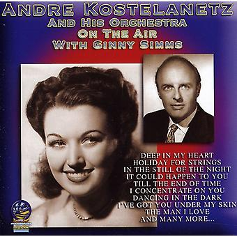 Andre Kostelanetz Orchestra - On the Air [CD] USA import