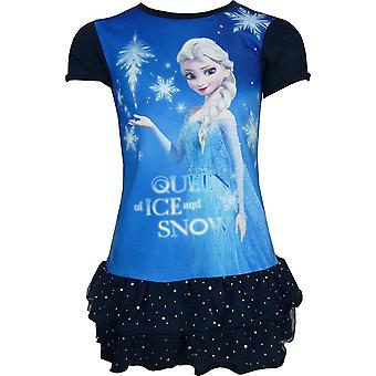 Disney Frozen Girls Short Sleeve Dress