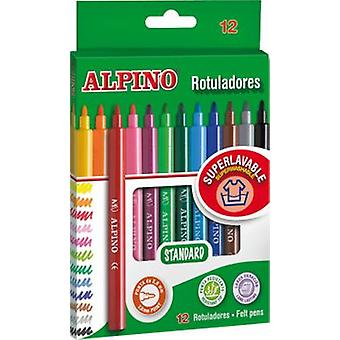 Alpino Caja 12 Rotuladores (Toys , School Zone , Drawing And Color)