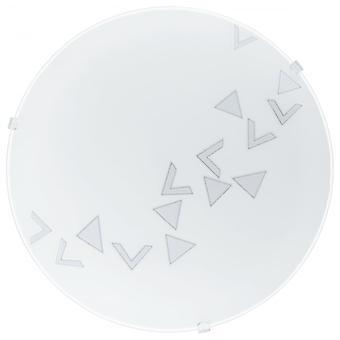 Eglo Satin Glass Circle Wall Lights / Ceiling Lights