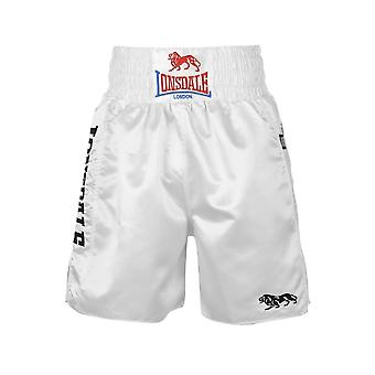 Lonsdale Lonsdale Pro Large Logo Trunks - White/White