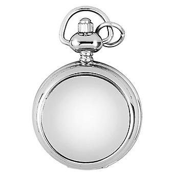 Woodford Chrome Plated Quartz Pendant Watch - Silver