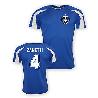 Javier Zanetti Inter Milan Sports Training Jersey (blue) - Kids