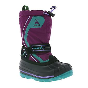 Kamik Snowcoast 4 G shoes children boots purple lining