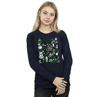 Elf Women's Infographic Poster Sweatshirt