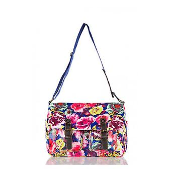 The Fashion Bible Blooming Marvelous Floral Satchel