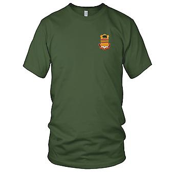 US Army - 308th Cavalry Regiment Embroidered Patch - Mens T Shirt