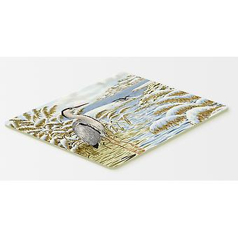 Blue Heron by the Water Kitchen or Bath Mat 20x30