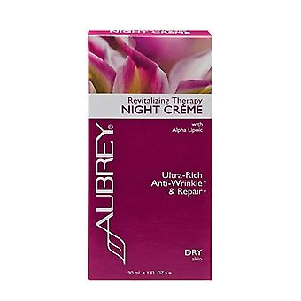 Aubrey Organics, Revitalising Therapy Night Creme, 30ml