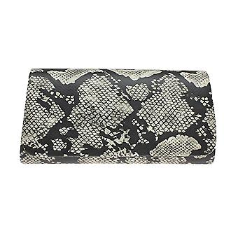 Lunar Elder Snake Print Clutch Bag
