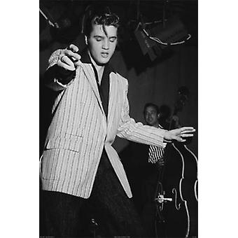 Elvis Presley Milton Berle Show Rehearsal June 4 1956 Poster Print by Michael Ochs Archive (24 x 36)