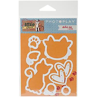 Photo Play Paper Etched Dies-Roxie & Friends PPRF2410