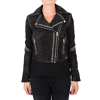 Some women's 102222GASIRA900 black leather jacket