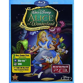 Alice in Wonderland [BLU-RAY] USA import