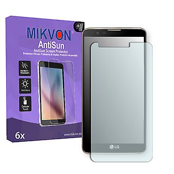LG Stylus 2 Screen Protector - Mikvon AntiSun (Retail Package with accessories)